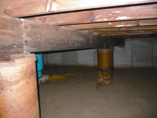 Crawl Space Repair Encapsulation in Asheville Greenville