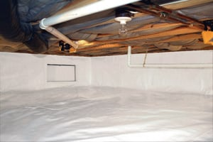 Crawl Space Repair After in Greenville