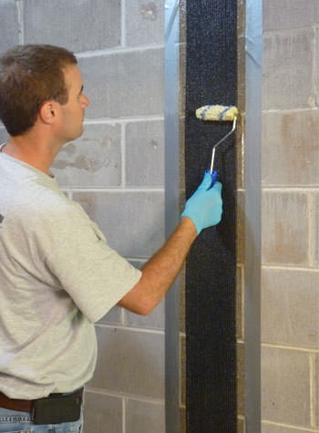 CarbonArmor® Wall Stabilization System Installed