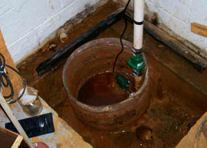 Extreme clogging and rust in a West Columbia sump pump system