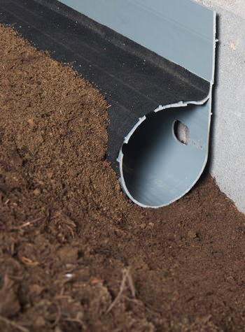 crawl space drain system installed in Union