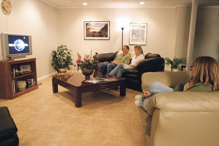 Basement Floor Tiles in Greenville, Asheville, Spartanburg ...