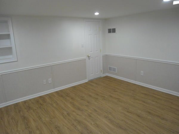 basement wall covering that resists mold & rot for Inman homeowners