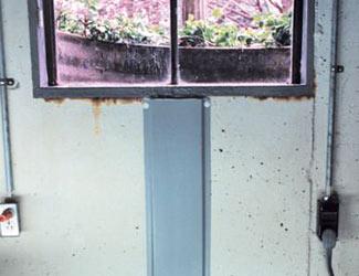 Repaired Waterproofed Basement Window Leak In Anderson